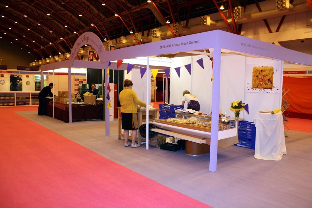 Exhibition Shell Scheme : Moyne shell scheme stands